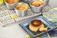 Receita de Pudins caseiros. Descubra como cozinhar Pudins caseiros de maneira prática e deliciosa com a Teleculinaria!