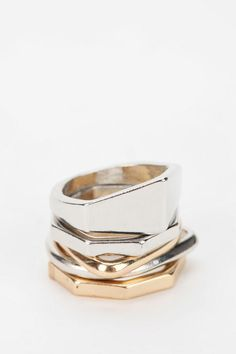 #Urban Outfitters         #ring                     #Urban #Outfitters #Barossa #Stackable #Ring        Urban Outfitters - Barossa Geo Stackable Ring Set                             http://www.seapai.com/product.aspx?PID=1531220