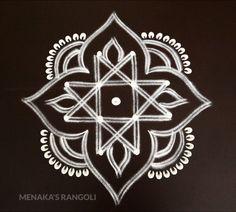 Easy Rangoli Designs Diwali, Indian Rangoli Designs, Rangoli Designs Latest, Simple Rangoli Designs Images, Free Hand Rangoli Design, Small Rangoli Design, Rangoli Border Designs, Rangoli Ideas, Rangoli Designs With Dots