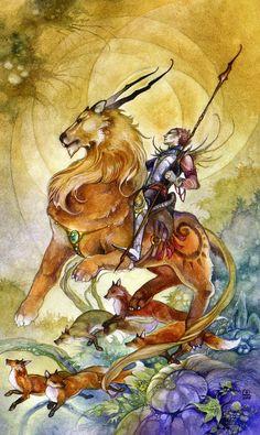 stephanie pui-mun law tarot: knight of wands