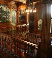 Interiour of Villa Fridheim, Norway. Gothic Architecture, Classical Architecture, Architecture Details, Interior Architecture, Old Mansions Interior, Mansion Interior, Victorian Interiors, Victorian Homes, Victorian Gothic