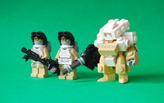 These are awesome custom minifigures.  I especially love the hardsuit/mecha.