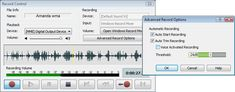 WavePad includes an audio, sound and voice recorder.