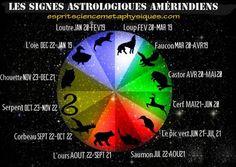 Les signes astrologiques amérindiens et leur signification De nombreuses cultures amérindiennes croient que chaque personne a un animal qui lui est attribué