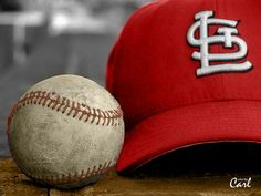 Cardinals cap and ball color by Carl