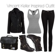 Beauty & the Beast - Vincent Keller Inspired Outfit