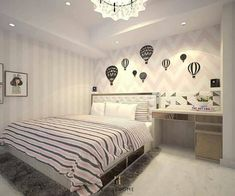 Home Room Design, House Design, Cute Room Decor, Wall Decor, Girl Bedroom Designs, Aesthetic Bedroom, Bedroom Vintage, House Rooms, Girl Room