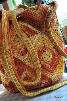 .crochet tote bag #crochetaccessories