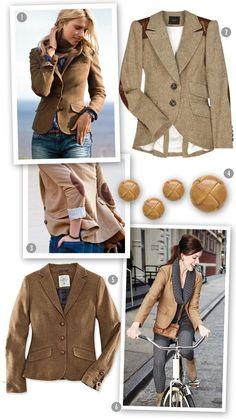 Americana ideal, con coderas. Combina con vaqueros, pantalón pitillo o falda