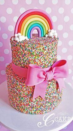 Rainbow Sprinkle Cakes, Rainbow Sprinkles, Cake Rainbow, Rainbow Baby, Unicorn Sprinkles, Rainbow Treats, Rainbow Stuff, Baby Sprinkle, Rainbow Unicorn Party