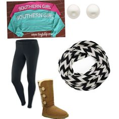 """Southern girl!"" by southern-prep22 on Polyvore"