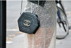 octagon shaped Chanel