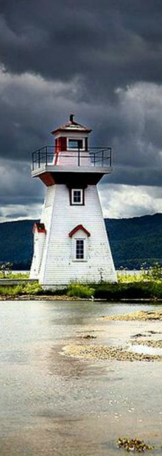Sea Island #Lighthouse - Nova Scotia, #Canada http://dennisharper.lnf.com/