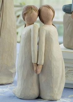 "Willow Tree Figurine- Two Alike... ""Celebrating a unique harmony"""