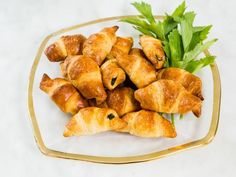 Get Ayesha Curry's Spinach-Feta Crescents Recipe from Food Network