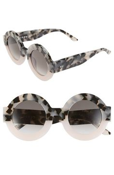 VALLEY 'Scapula' 45mm Round Sunglasses
