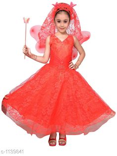 Checkout this latest Frocks & Dresses Product Name: *Trendy Kid's Girl's Modern Dress* Sizes: 12-18 Months, 18-24 Months, 2-3 Years, 3-4 Years Country of Origin: India Easy Returns Available In Case Of Any Issue   Catalog Rating: ★4.3 (2468)  Catalog Name: Kid'S Girl'S Modern Dresses Vol 2 CatalogID_141378 C62-SC1141 Code: 847-1139841-3702