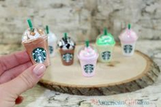 DIY American Girl Doll Starbucks Frappe Craft Our American Girl Starbucks cafe is coming along. I like how we have broken up the crafts so it's easier to follow. We are almost done and only have a few things left before it's time to put it all together! We hope you enjoy these adorable Frappes! …