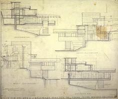 Fallingwater : Kaufmann Residence (1934-37) | Frank Lloyd Wright | © Frank Lloyd Wright Foundation