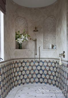 Elegant Shower Drains By California Faucets Create A Luxe Finishing Touch  In Bathroom Projects, Designed By Top Cabo San Lucas Luxury Interior  Designer ...