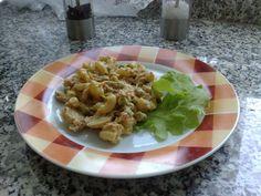 Receita de Salada  de  macarrão.