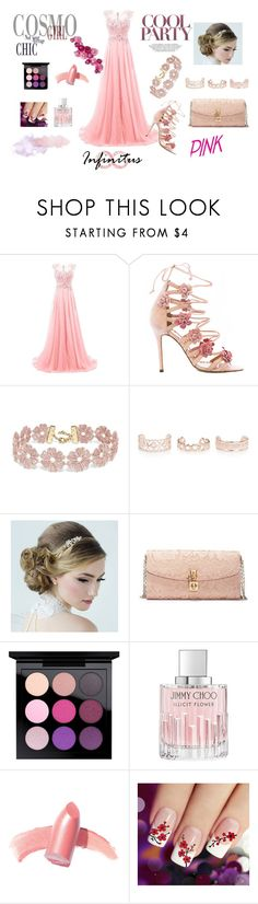 """Especial :D"" by divinas40 on Polyvore featuring moda, Marchesa, BaubleBar, New Look, Dolce&Gabbana, MAC Cosmetics, Jimmy Choo y Elizabeth Arden"