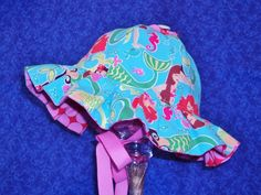 Mermaid Baby Sunhat by AdorableandCute on Etsy, $25.00
