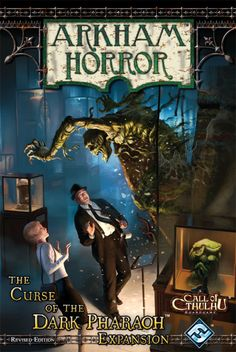 Arkham Horror: The Curse of the Dark Pharaoh Expansion (Revised Edition)