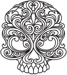 dia de los muertos patterns - Google Search