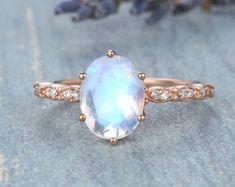 HANDMADE RINGS & BRIDAL SETS by MoissaniteRings on Etsy Bridal Ring Sets, Handmade Rings, Belly Button Rings, Gemstone Rings, Etsy Seller, Brooch, Engagement Rings, Pretty, Jewelry