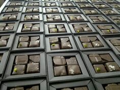 William Curley boxes being packed