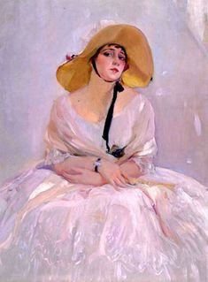 Portrait of Raquel Meller by Joaquin Sorolla y Bastida,.Raquel Meller, was a Spanish diseuse, cuplé, and tonadilla singer. She was an international star in the and appearing in several films and touring Europe and the Americas. Spanish Painters, Spanish Artists, L'art Du Portrait, Portraits, Figure Painting, Painting & Drawing, Art Espagnole, Renoir, Art Plastique