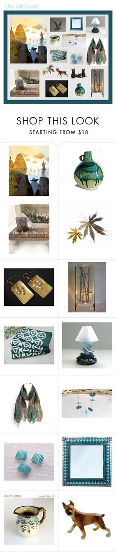 """Etsy Gift Guide"" by anna-ragland ❤ liked on Polyvore featuring kitchen and vintage"
