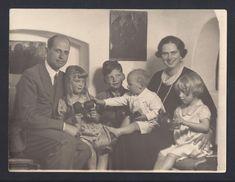 Archduke Anton of Austria – and his wife Princess Ileana of Romania with their four eldest children, Archduke Stefan, Archduchess Maria Ileana, Archduchess Alexandra and Archduke Dominic, circa Romanian Royal Family, Archduke, Blue Bloods, Antique Photos, Ferdinand, Queen Victoria, Queen Elizabeth Ii, Anton, Time Travel