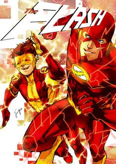N52 The Flash and Kid Flash