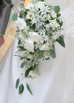 新郎新婦様からのメール 水色雪色 アプローズスクエアへ : 一会 ウエディングの花