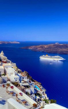 Santorini Greece - one of the most spectacular places on earth, and one of my most favorites!