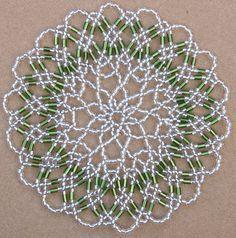free seed bead patterns for doilies - Google'da Ara