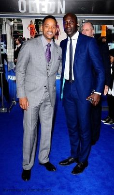 ♥ ℒℴvℯly Boateng Ozwald, Fashion Designer and Will Smith... what a difference a nice suit makes.