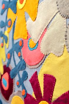 Slow Sewing: Wool Appliqué, A Technique Tutorial from Alison Glass | Sew Mama Sew | Outstanding sewing, quilting, and needlework tutorials since 2005.