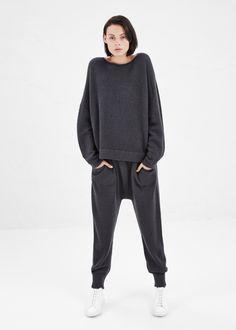 Lauren Manoogian Solid Arch Pants in Soft Black #totokaelo #laurenmanoogian