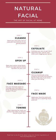Facial Tips, Acne Facial, Facial Care, Dyi Facial, Thinning Hair Remedies, Hair Loss Remedies, Facial Steps At Home, Facial Routine Skincare, Home Facial Treatments