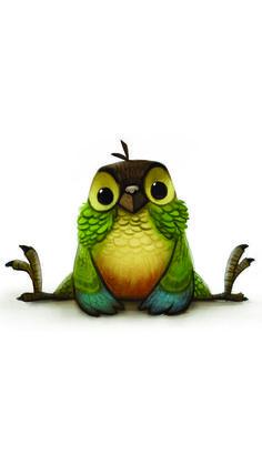 Pájaros boceto