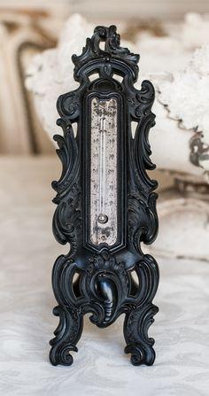 French Napoleon III Gutta Percha Thermometer