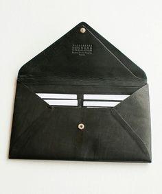 Maison Martin Margiela wallet  ....The black book of ideas #work #career #office #dream #love #passion #business #meeting  www.morseandnobel.com