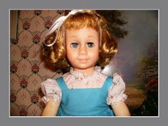 The original Chatty Cathy...I remember the day Daddy brought mine home for me.  I loved her.