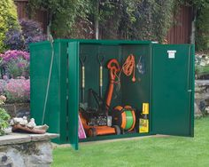 5x3 Metal Garden shed | Secure store garden storage built by Asgard