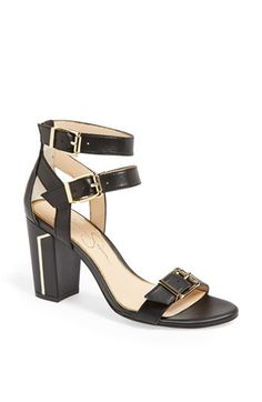 Jessica Simpson 'Julinda' Double Ankle Strap Sandal available at #Nordstrom