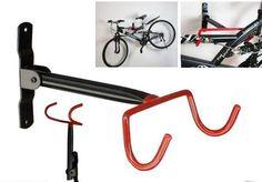 Garage Wall Bicycle Bike Storage Rack Mount Hanger Hook Holder with Screws - Mega Save Wholesale & Retail - 1
