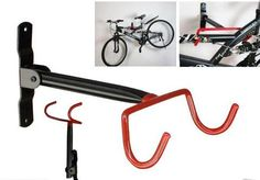 Garage Wall Bicycle Bike Storage Rack Mount Hanger Hook Holder with Screws - Mega Save Wholesale & Retail - 1